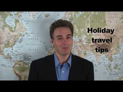 A holiday travel survival guide: 5 things you absolutely must know