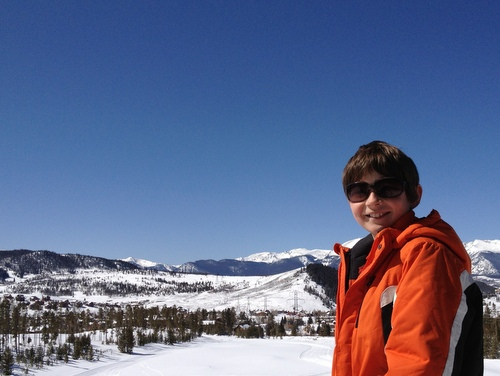 Aren Elliott in Keystone, Colo.