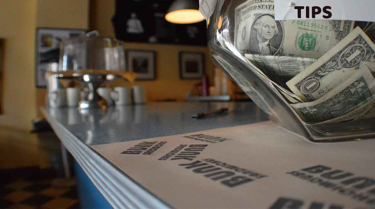 You might be tipping too much. Let's discuss!