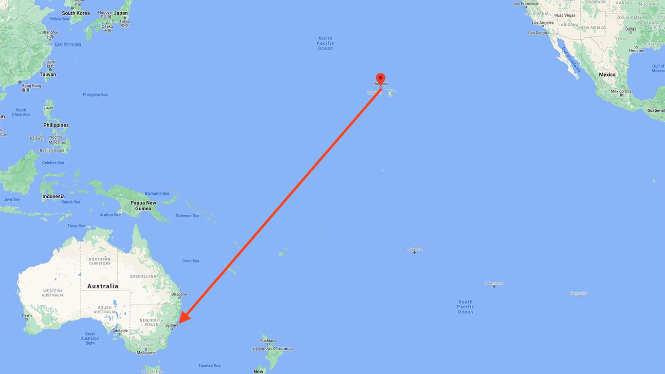 Was this passenger really almost killed by an inflight injury from Hawaii to Australia?