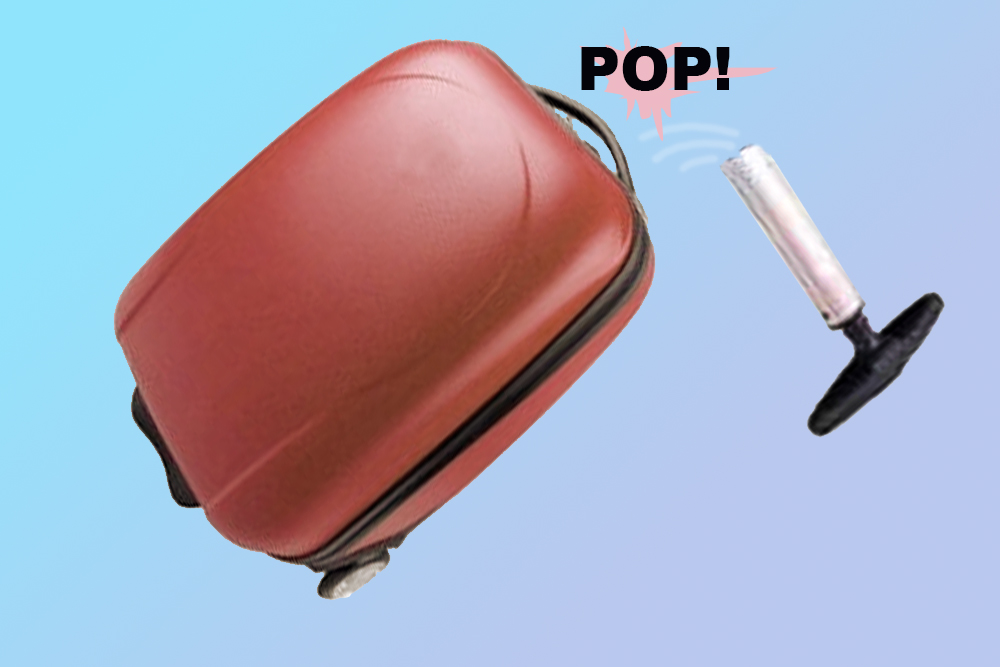 luggage, baggage, travel, damage, broken, refund, repair, fix