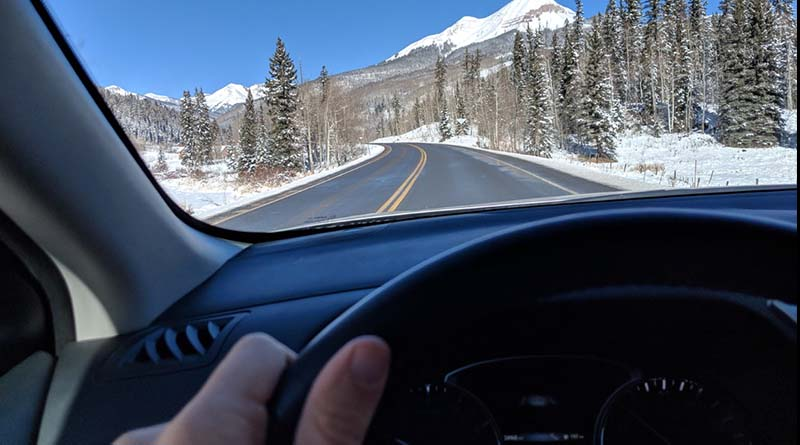 The drive from Purgatory, Colo., to Silverton. So much to see on a late winter day.