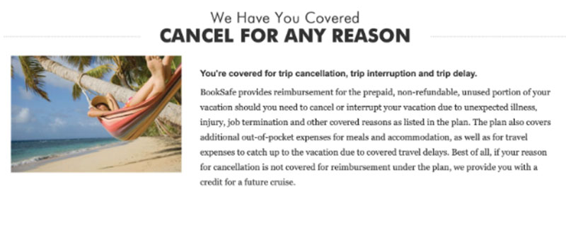 Can you really cancel the cruise for any reason?