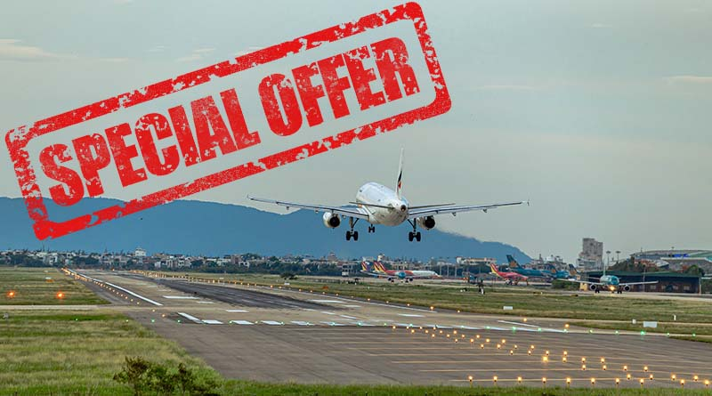 This is what happens if you try to sell your airline vouchers! (Michelle Couch-Friedman, author)