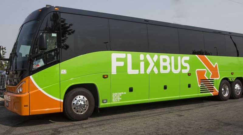 What is Flixbus and why did it leave him stranded?