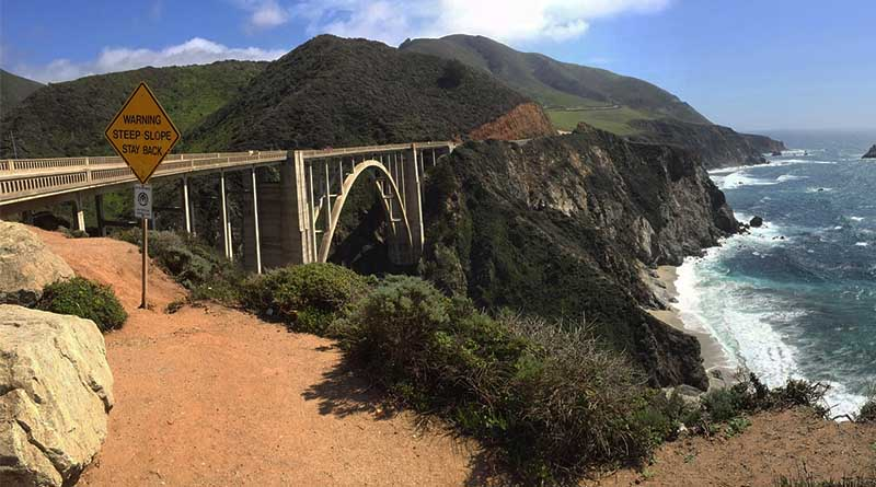 Highway 1 is reopened. Here's how to see it