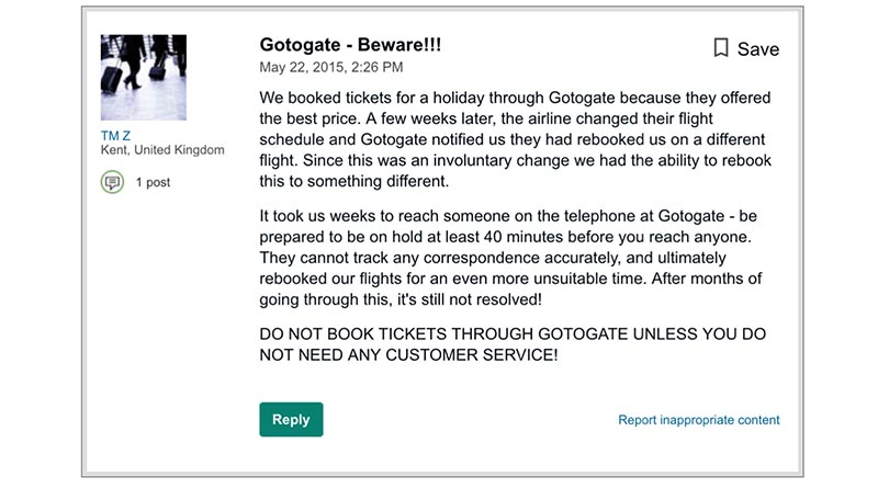 This GotoGate review doesn't sound very good.