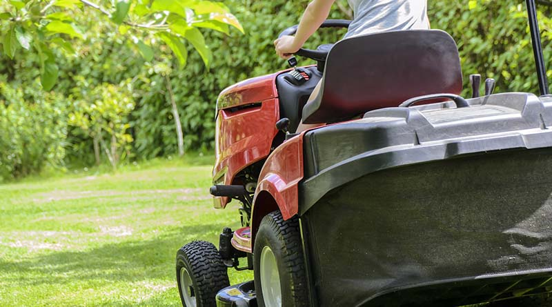 His lawn mower is broken. Can Home Depot help?