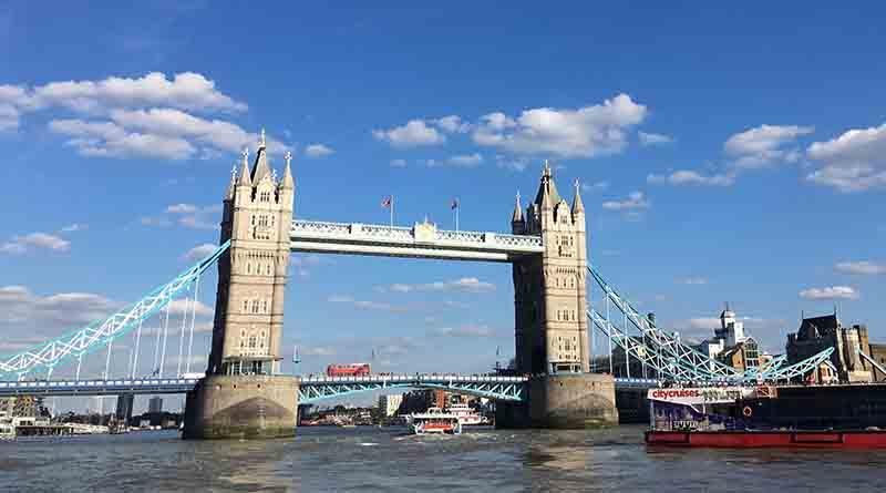 Stranded in London.