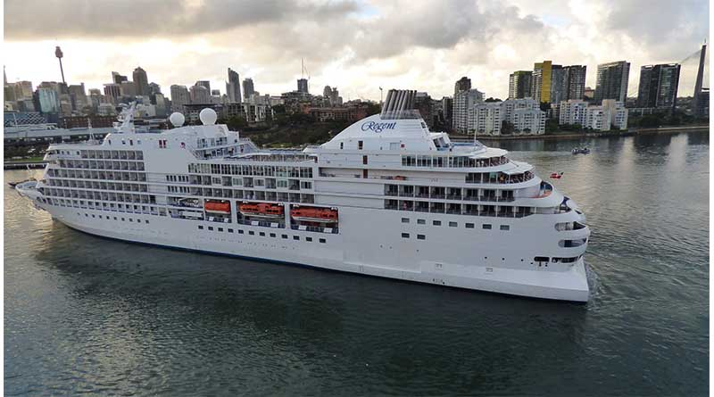 They were forced to cancel the cruise. So why did a A last minute Regent Cruises invite arrive.