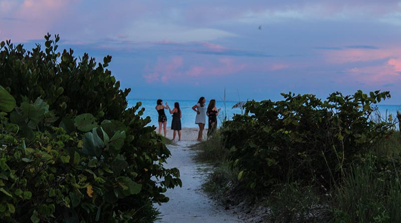Sunset in Sanibel on Michelle Couch-Friedman's 30-day road trip with teenagers