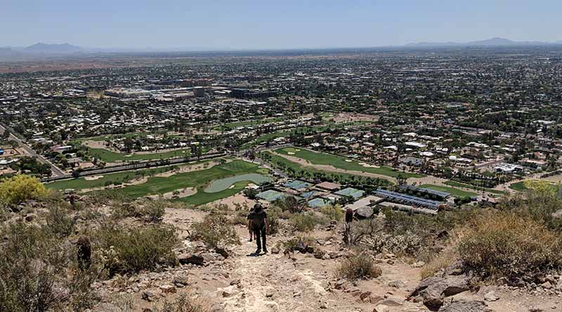 Scottsdale in the summer is hot! But you can still hike