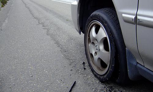Dollar Rental Car Spare Tire