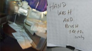 Her disgusting train ride included a filthy, broken toilet and no Amtrak refund.