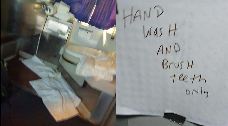 Here is the most disgusting train ride tale of the year!