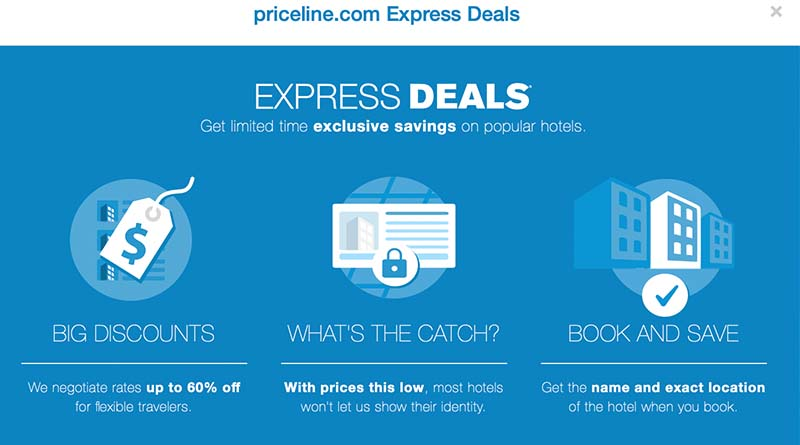 She made an awful booking mistake on Priceline Express Deals.