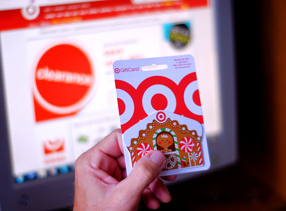 Help! My Target gift card is zeroed out