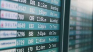 Technology issues causing flight delay?