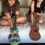 Buying Ukuleles on our road trip