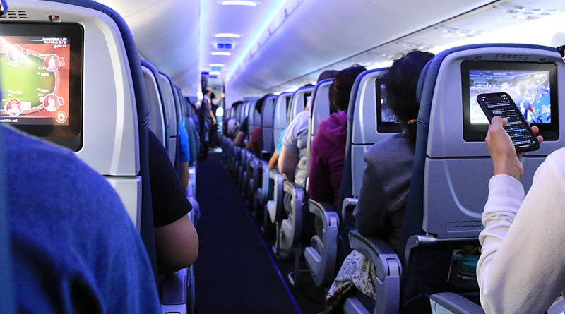 What's the weirdest thing on a flight you've seen?