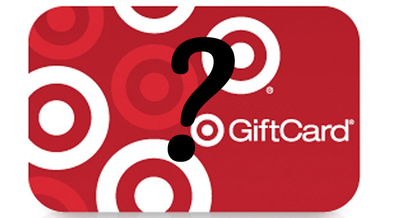 Can you help find my Target gift cards?