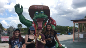 Michelle Couch-Friedman's road trip crew hits The Everglades