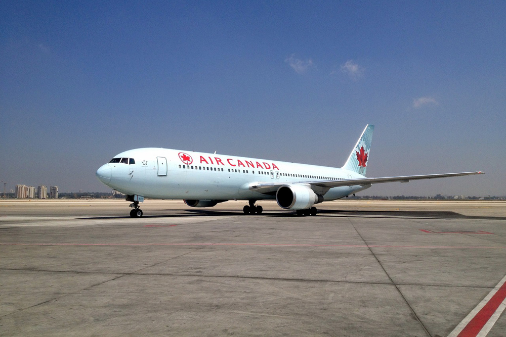 air canada, flight, airplane, plane, tarmac, trip, travel