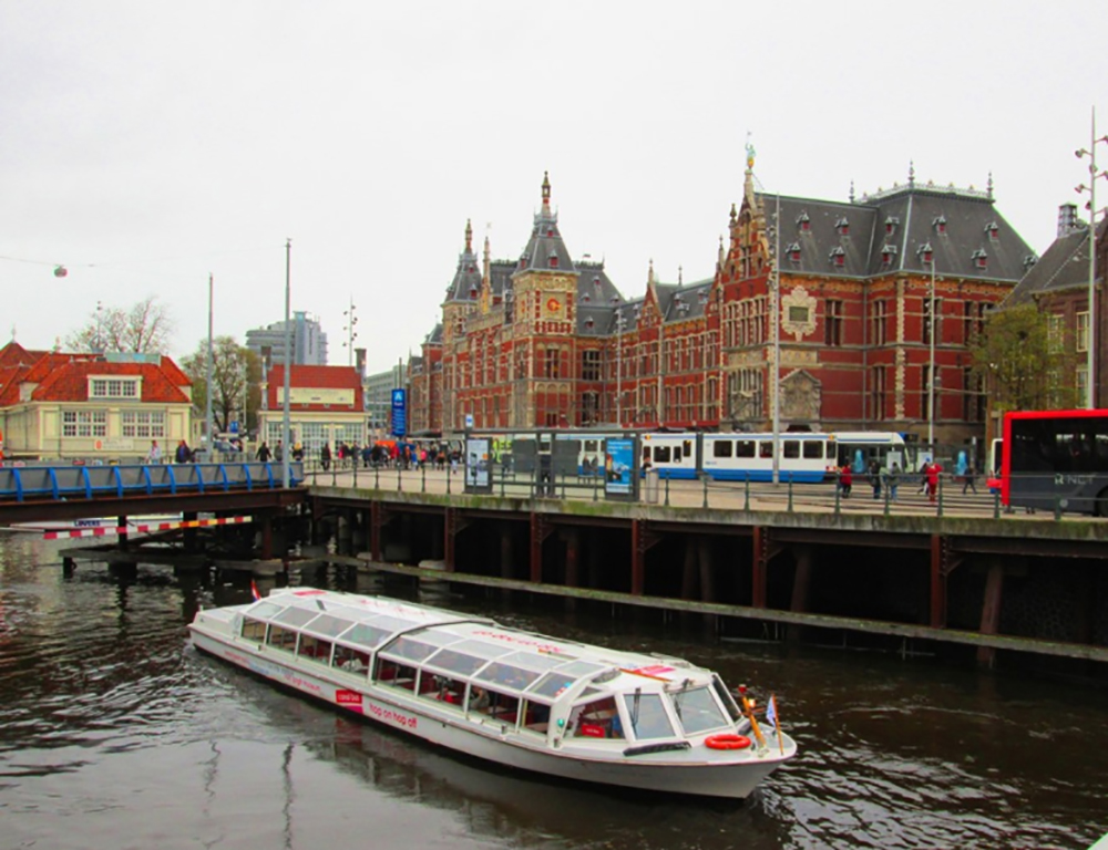 amsterdam, netherlands, europe, boat, canal