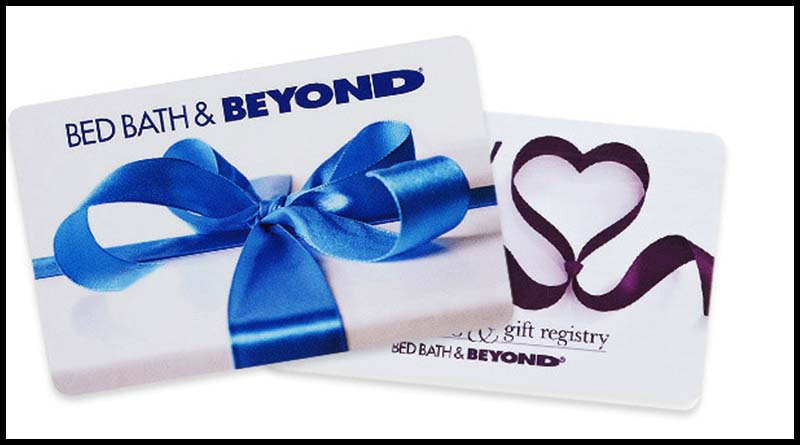 Who sold him this fraudulent gift card and why is he making threats to Bed Bath & Beyond?