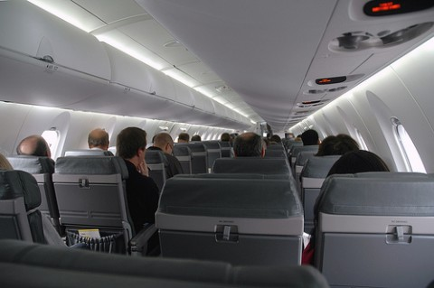 Airline Passengers Go To War Over Bin Space