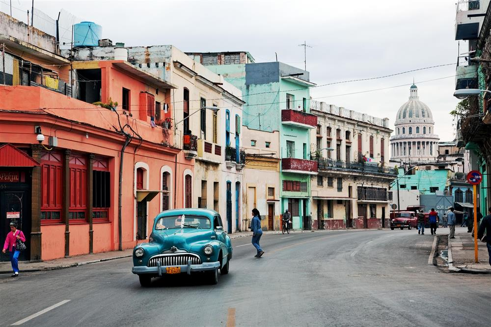 cuba, international travel, old car, vintage car, automobile, vintage automobile, street, avenue, classic, classic car, destination, new