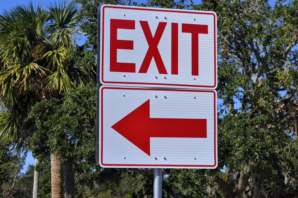 exit, leave, end, finish, done, complete, arrow, sign