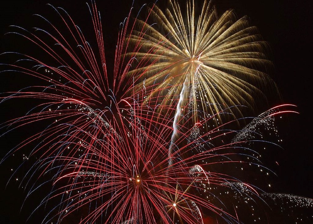 hooray, celebrate, fireworks, explosion, new year, fourth, july, fourth of july, party
