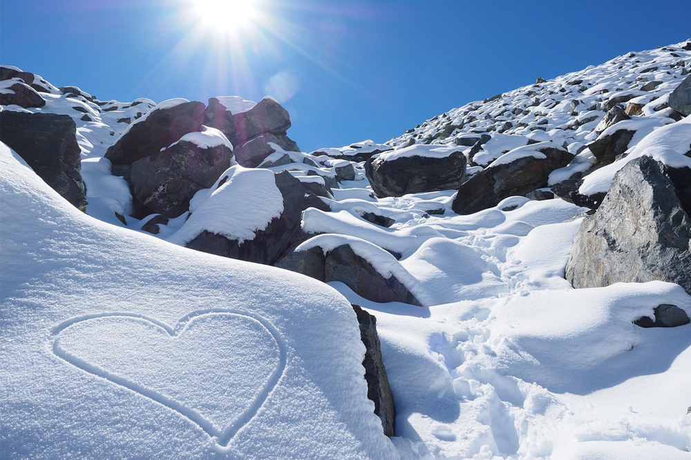 heart, snow, cold, winter, travel, remote, iceland, vacation