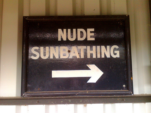 ... for Nude Recreation, a group that represents clothing-optional resorts.