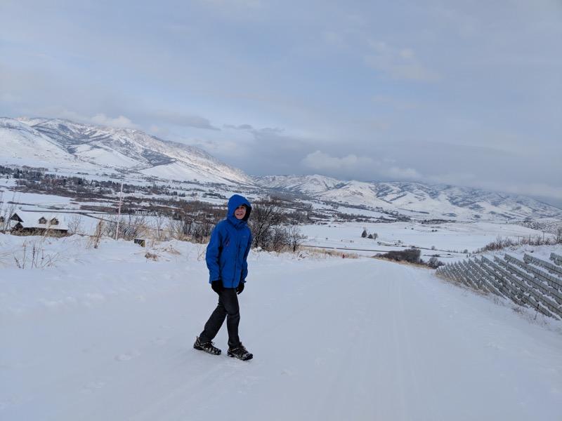 Utah's winter splendor.