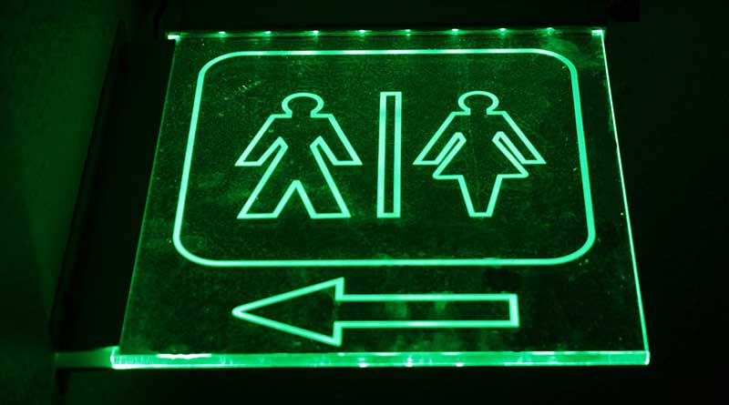 A flight without a restroom! Is it legal?