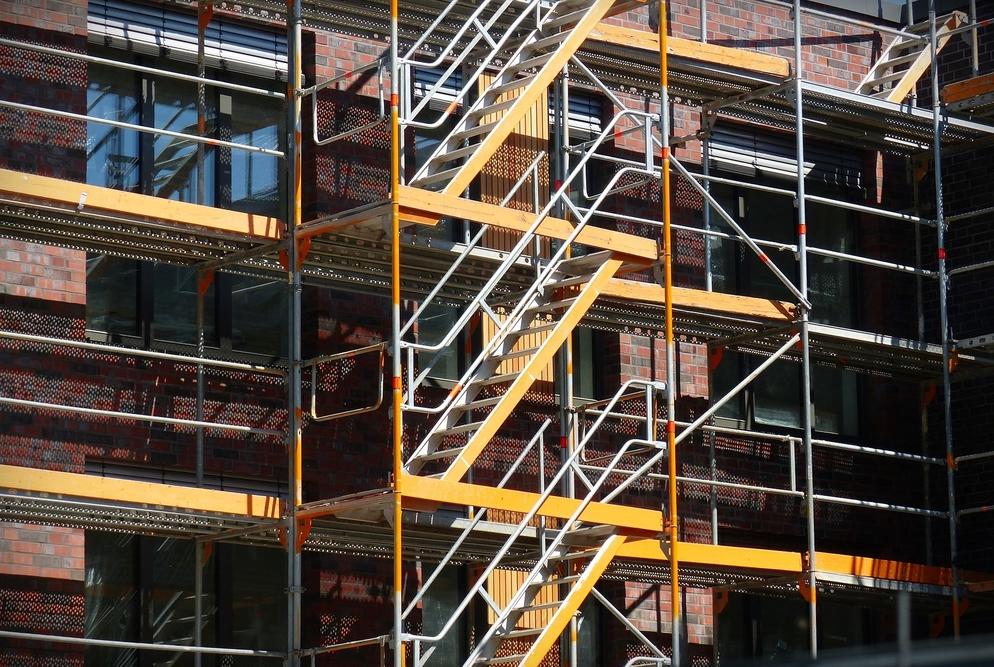 cancel, customer service, hotel, construction, refund, renovation, stay, travel, motel, building, scaffold