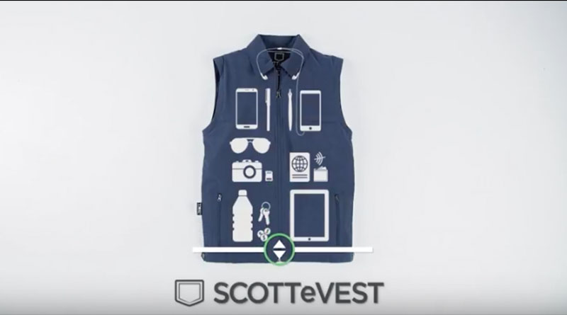 Minimalist packing: Expert tips from the creator of SCOTTeVEST