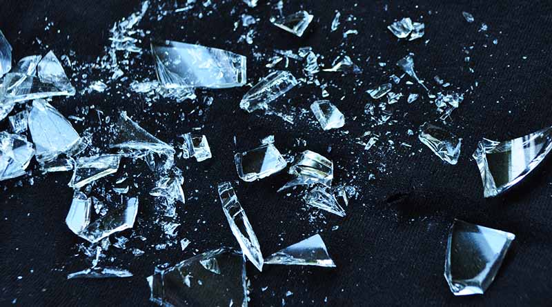 His Kenmore washing machine glass shattered. Now What?