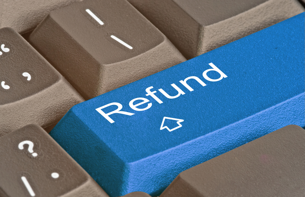 A refund in process, but should we get involved?