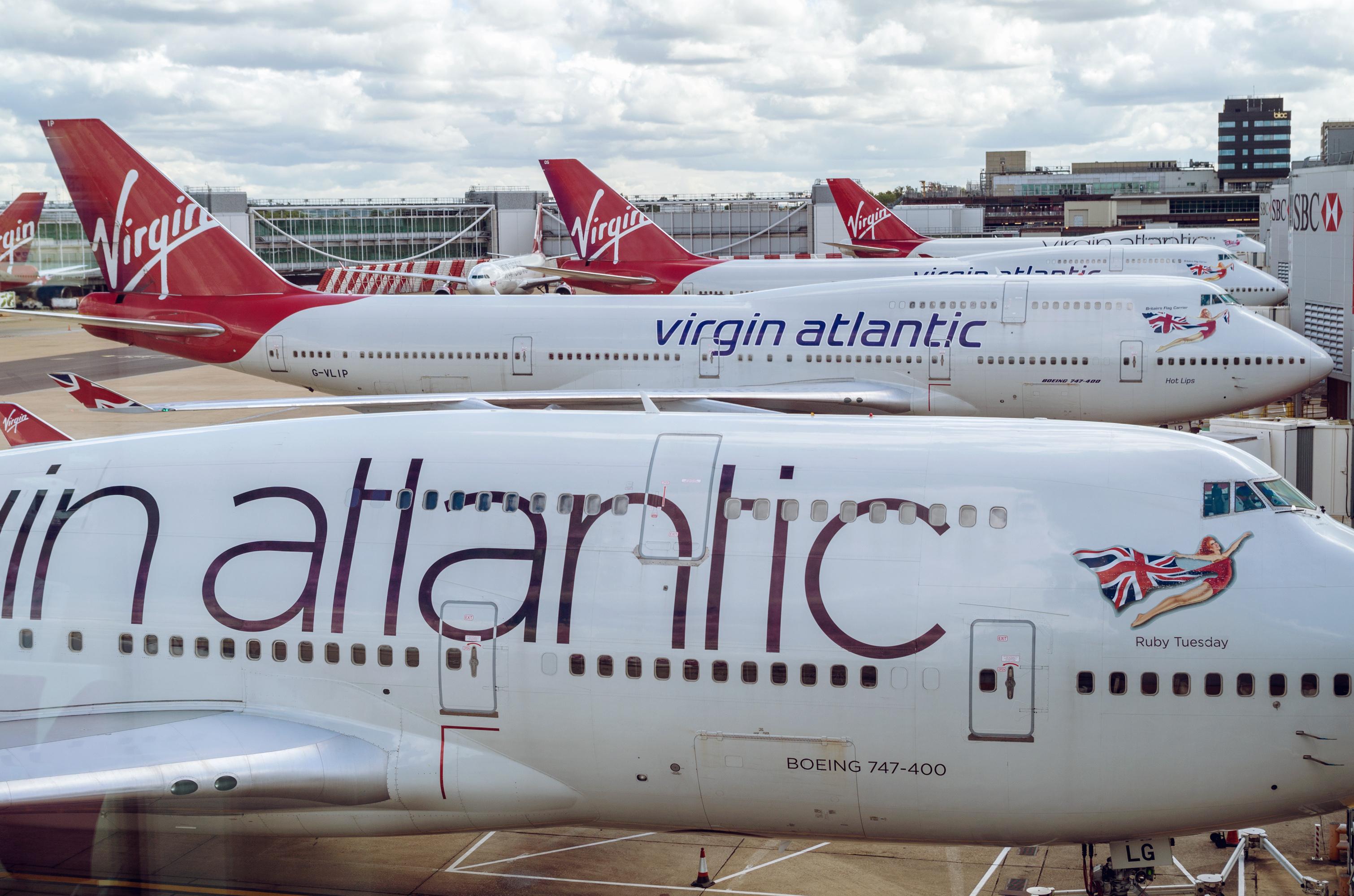 Virgin airways chicago to london