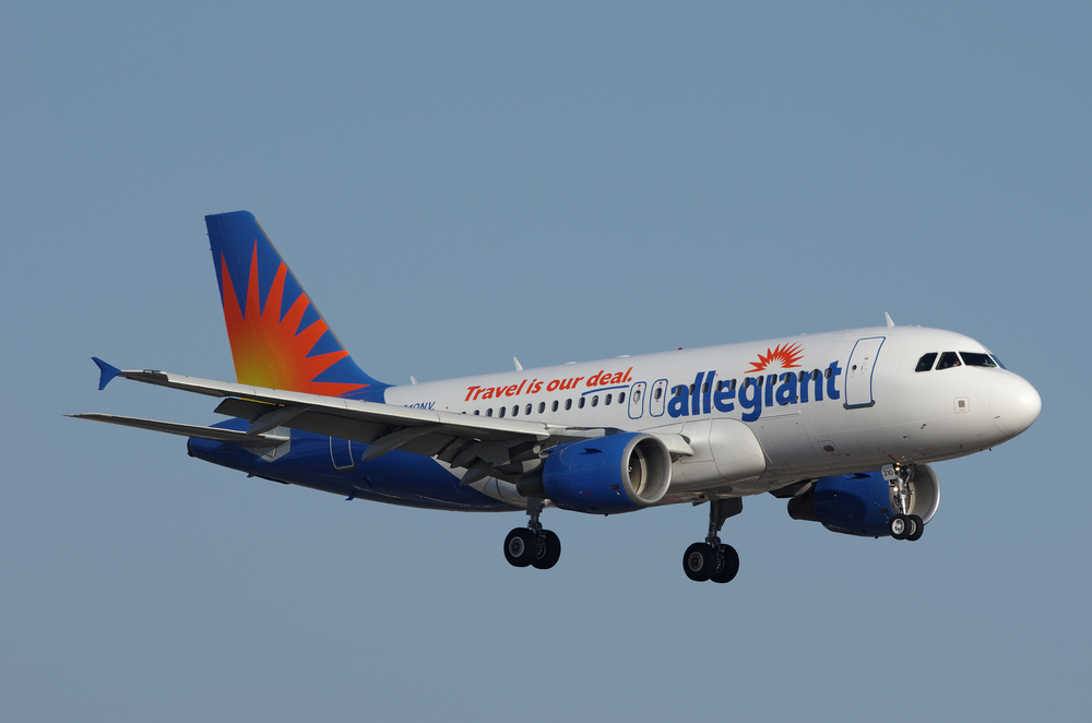 Allegiant Air strikes again!