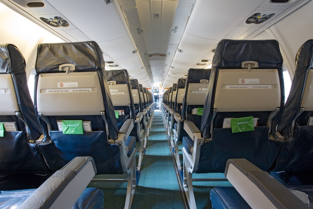 An airline seat dispute quickly spirals out of control
