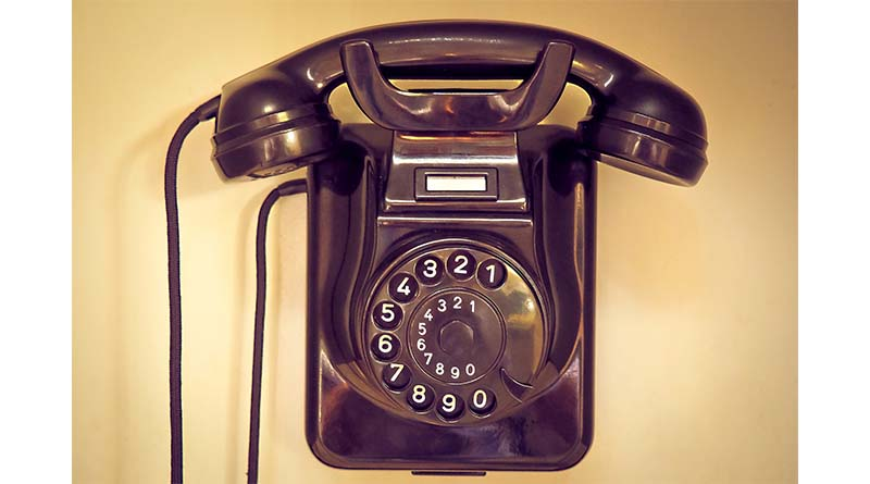 Scammers often use the telephone to trick the elderly
