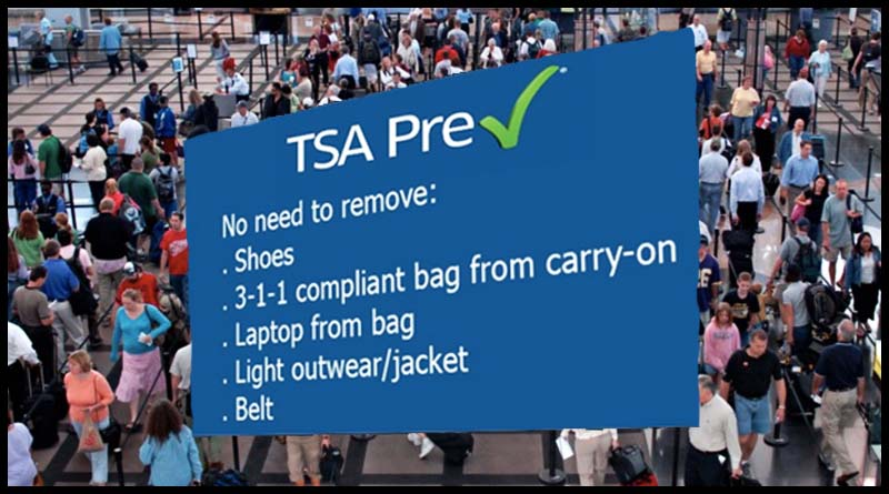 She didn't have TSA PreCheck —  this is what happened next