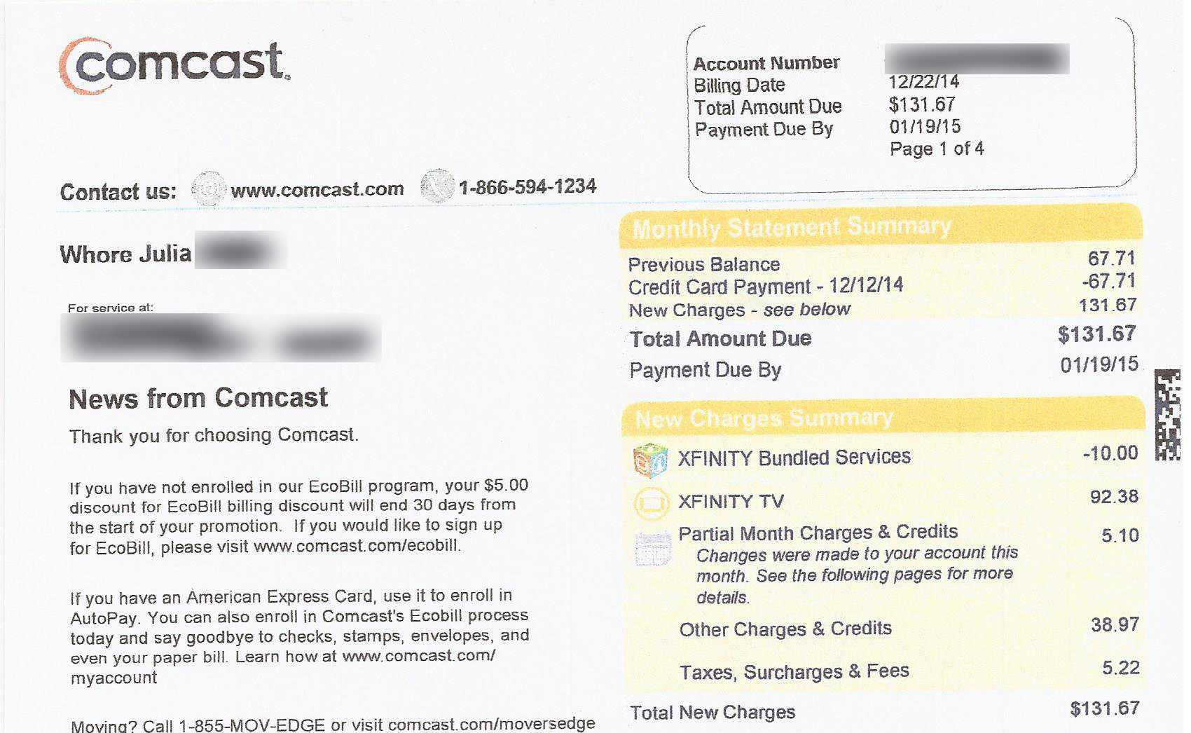 Comcast Calls Its Customers More Shocking Names Elliott Stop Unwanted Phone  Calls